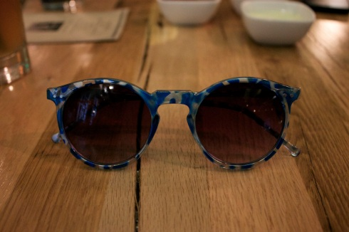 Sunglasses at Umami Burger